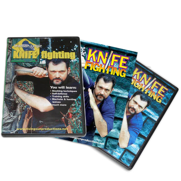 Knife Fighting Master Testa 3 DVD Set