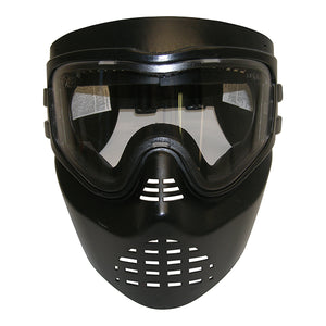 GXG XVSN No Fog Clear Paintball Airsoft Stealth Goggles Mask Black