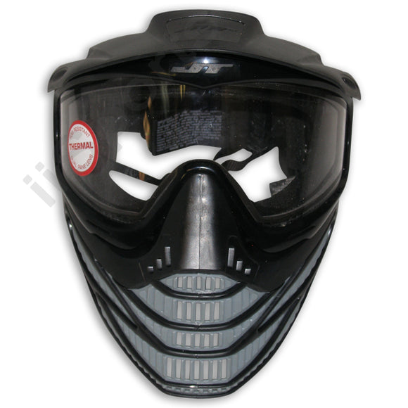 JT Spectra Flex 8 Paintball Airsoft Thermal Goggle Mask Headshield Black/Gray