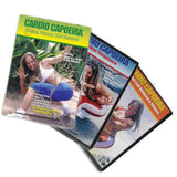 Cardio Capoeira Aerobic Workout 3 DVD Set by Carla Ribeiro