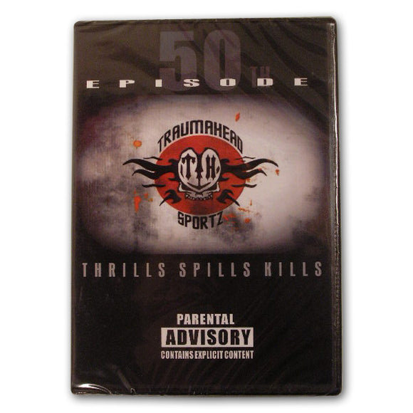 Traumahead Pro Paintball 50 Episodes 1996 - 2006 Thrills Spills Kill Shots DVD