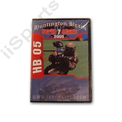 Traumahead Sportz Huntington Beach Paintball Open 2005 DVD series 7 nppl