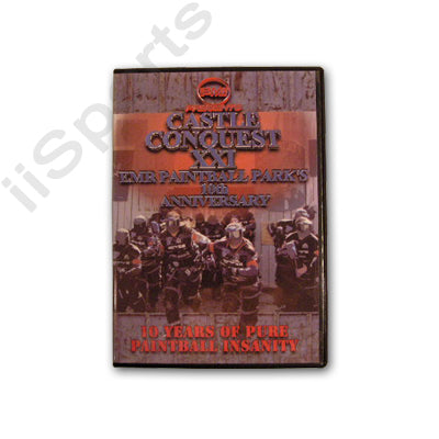 Castle Conquest XXI EMR 10th Anniversary Paintball Scenario Big Game 2006 DVD