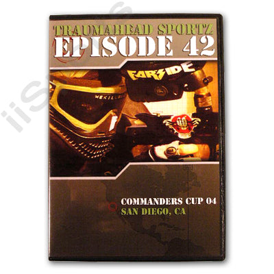 Traumahead Sportz #42 Commanders Cup Paintball Tournament Open 2004 DVD nppl