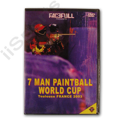 Facefull 7 Man World Cup Paintball Tournament Toulouse France 2003 DVD xball