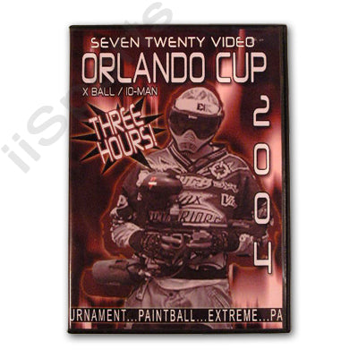 720 Paintball World Cup 2004 Pro 10 man Tournament DVD Orlando Florida