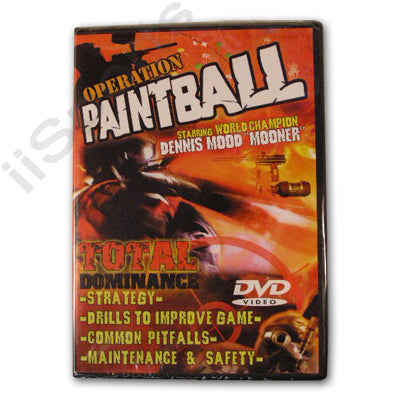 Operation Paintball Total Dominance DVD Pro Techniques How To Jason Morton