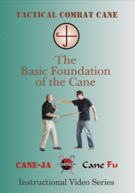 Tactical Combat Basic Foundation of the Cane DVD Locks Strikes Punches Swings