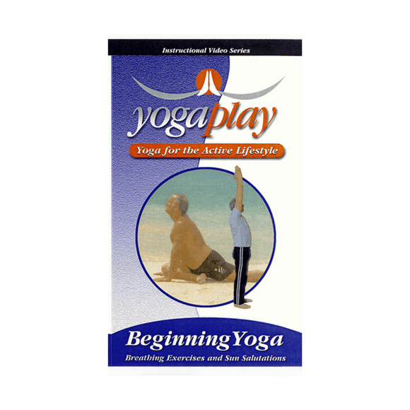 Beginning Yoga Play Sun Salutations DVD Inner Organ Massage Chi Flow Mark Shuey