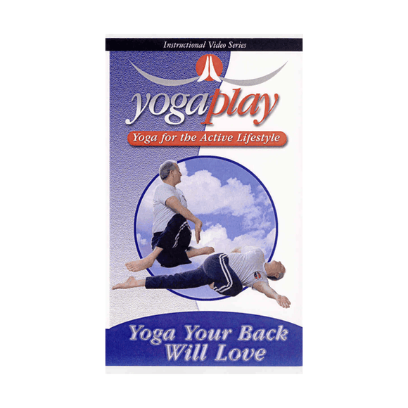 Yoga Your Back Will Love DVD Treat & Eliminate Upper Lower Back Pain Mark Shuey