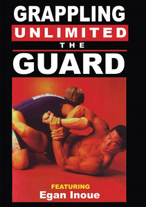 Grappling Unlimited #1 Guard techniques DVD Egan Inoue mma brazilian jiu jitsu