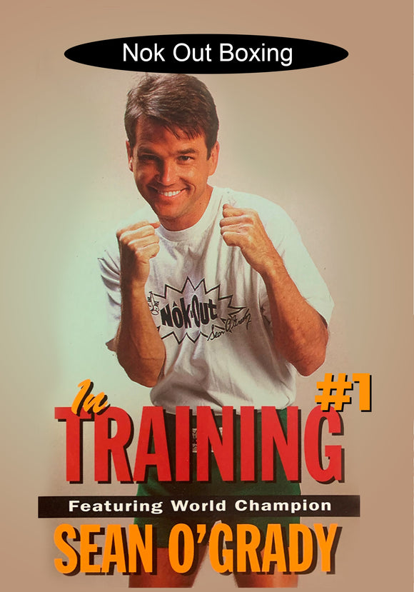 Nok Out #1 Boxing in Training DVD Champion Sean O'Grady