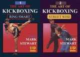 2 DVD Set The Art of Kickboxing Ring Smart & Self Defense - Mark Stewart