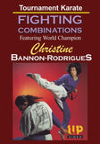 Champion Tournament Karate Fighting Combinations DVD Christine Bannon-Rodrigues