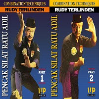 2 DVD Set Indonesian Pencak Silat Ratu Adil Pukulan forms 1,2 DVD Rudy Terlinden