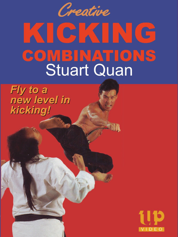 Creative Kicking Combinations Power Balance DVD Stuart Quan Japanese Korean Kick