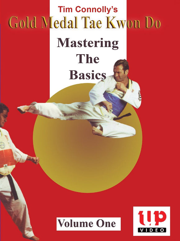 Tim Connolly Gold Medal Tae Kwon Do #1 Mastering Basics DVD korean martial arts