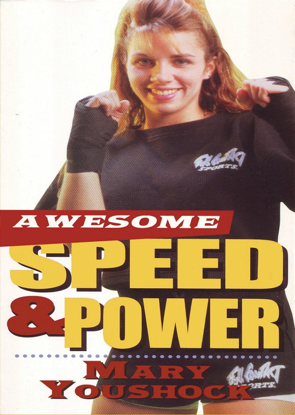 Awesome Speed & Power with Training Equipment Taekwondo Karate DVD Mary Youshock
