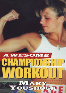 Awesome Speed & Power Aerobic Kickboxing & Weight Workout DVD Mary Youshock