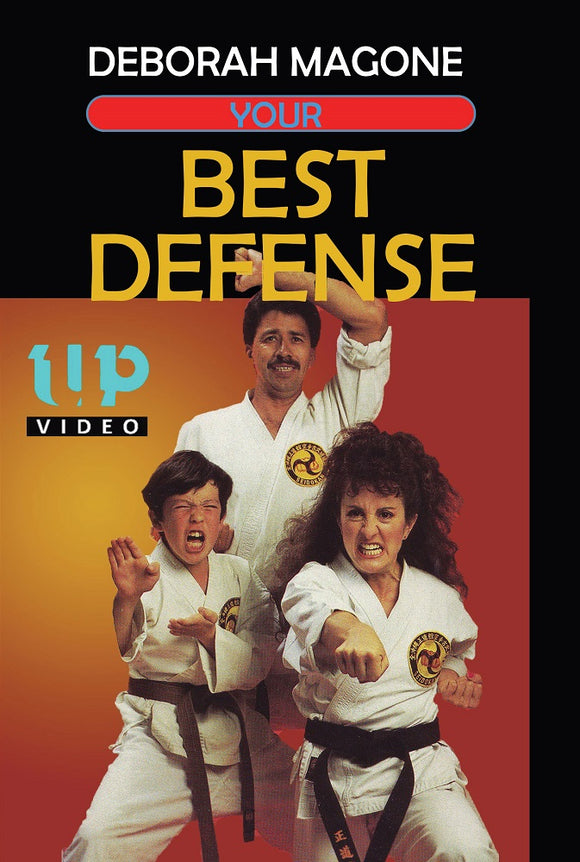 Your Best Okinawan Seidokan Karate Self Defense Men & Women DVD Deborah Magone