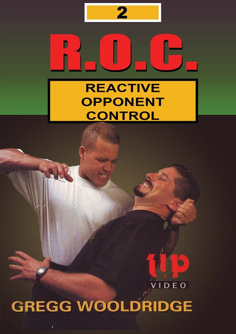 R.O.C. Reactive Opponent Control #2 Strikes & Body Weapons DVD Gregg Wooldridge