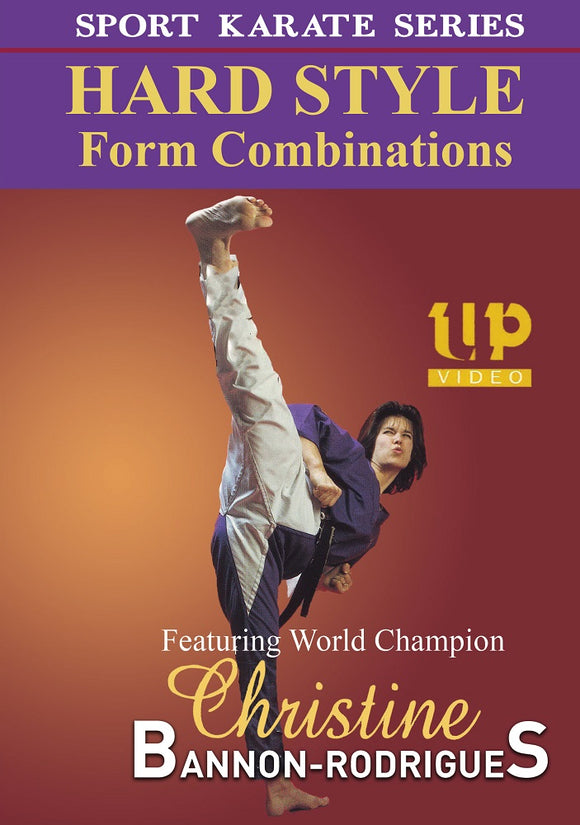 Hard Style Form Tournament Karate Combinations DVD Christine Bannon-Rodrigues