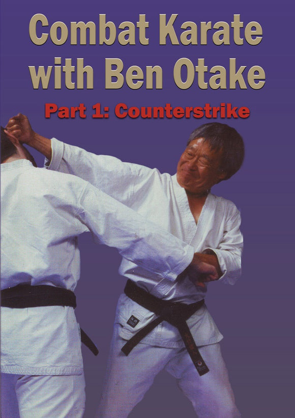Combat Karate #1 Counterstrikes DVD Ben Otake traditional martial arts