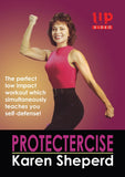 Protectercise women low impact aerobics & self-defense DVD Karen Sheperd