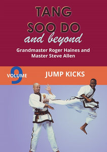 Tang Soo Do & Beyond #9 Jump Kicks Korean Karate DVD Roger Haines