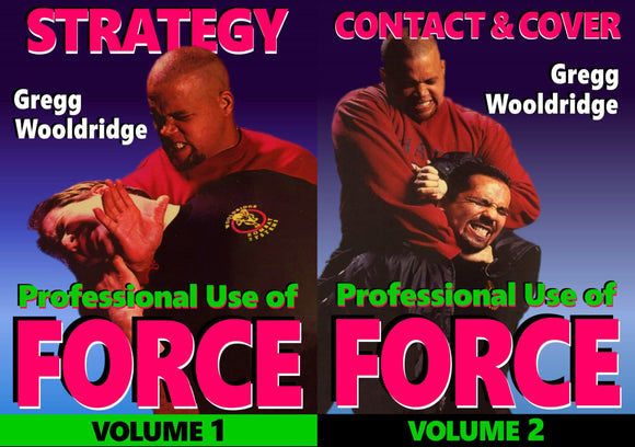2 DVD Set Professional Use Force Bodyguard Executive Protection Gregg Wooldridge