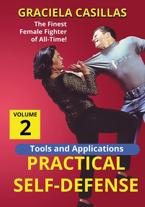 Tools & Applications Practical Women Self Defense #2 DVD Graciela Casillas