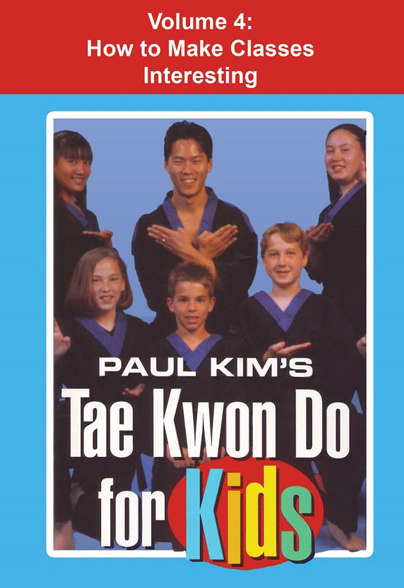 Tae Kwon Do for Kids #4 Primer for Students & Instructors DVD Paul Kim