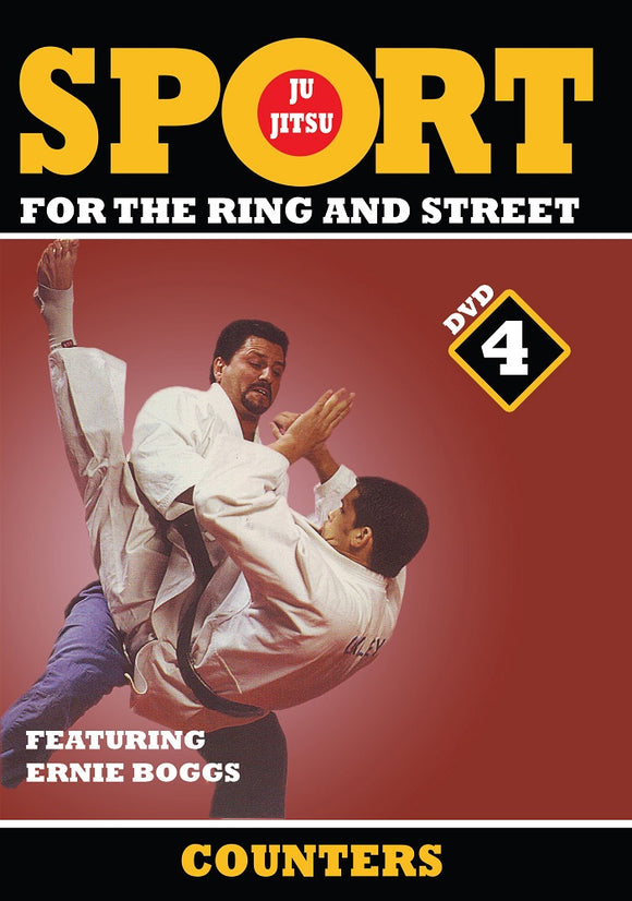 Jiu-Jitsu Ring & Street Fighting #4 Counters Escape Techniques DVD Ernie Boggs