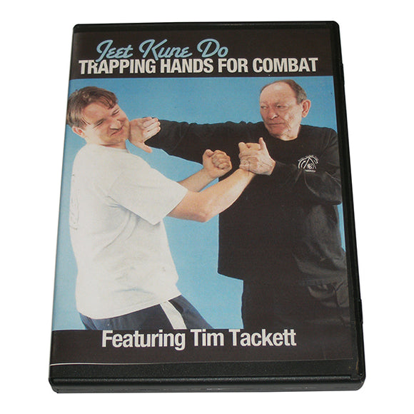 Jeet Kune Do Trapping Hands Combat DVD Tim Tackett Bruce Lee Jun Fan wing chun