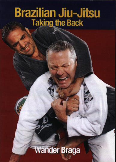 Brazilian Jiu-Jitsu Taking the Back DVD Wander Braga MMA Vale Tudo
