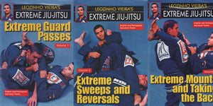 3 DVD Set Advanced Extreme Brazilian Jiu Jitsu MMA Grappling Fighting Leo Vieira