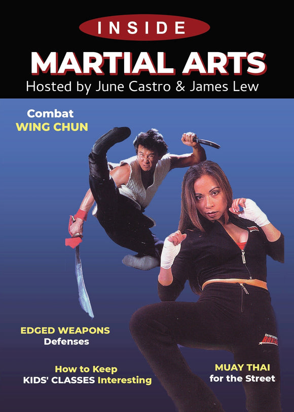 Inside Martial Arts DVD June Castro & James Lew