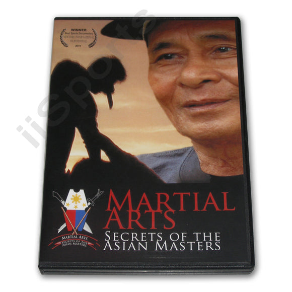 Filipino Martial Art Secrets Asian Masters DVD Eskrima Escrima Kali Arnis Hufana
