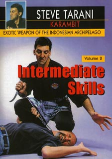 Indonesian Karambit Blade #2 Intermediate Skills DVD Steve Tarani knife fighting