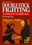 Secrets of Lameco Eskrima Double Stick Fighting #2 Martial Art DVD Edgar Sulite