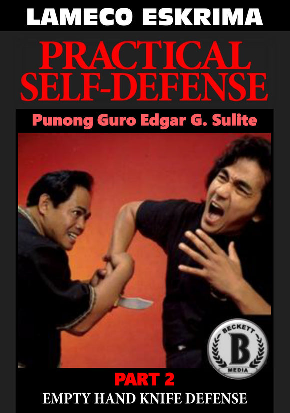 Lameco Eskrima Practical Self Defense #2 Hand Knife Defense DVD Edgar Sulite