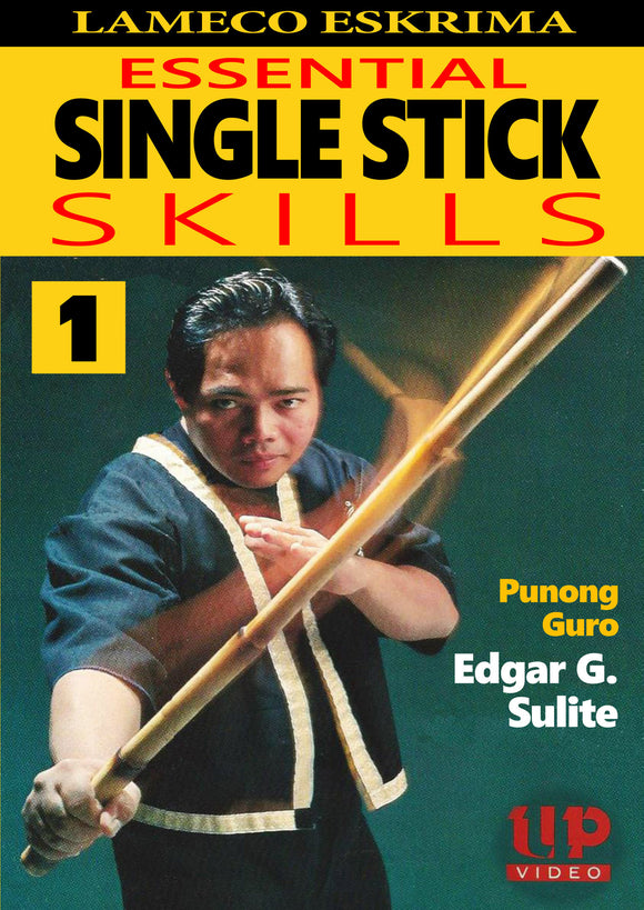 Lameco Eskrima Essential Single Stick Skills #1 Martial Arts DVD Edgar Sulite