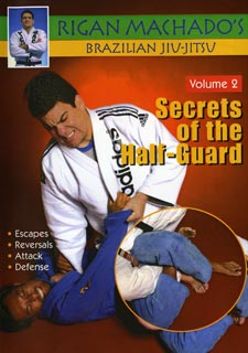 Brazilian Jiu Jitsu Secrets of Half-Guard #2 DVD Rigan Machado MMA grappling