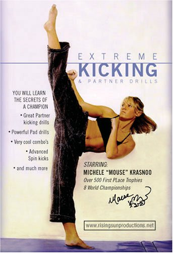 Tournament Karate Extreme Kicking & Partner Drills Competition DVD Michele Mouse Krasnoo