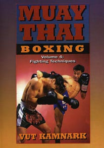Muay Thai Boxing #4 Fighting Techniques combos counters strikes DVD Vut Kamnark