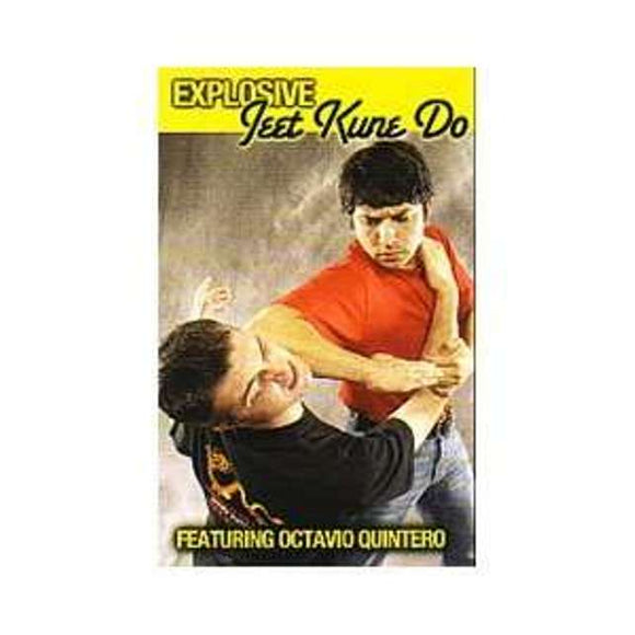 Explosive Bruce Lee Jeet Kune Do DVD Octavio Quintero Jerry Poteet jun fan mma
