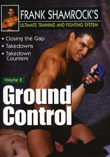 Frank Shamrock Training & Fighting #2 Ground Control DVD MMA Grappling nhb