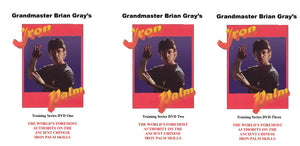 3 DVD Set Kung Fu Iron Palm Training a Complete Course by GM Brian Gray