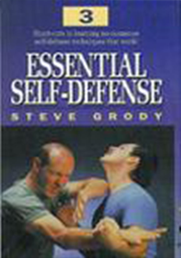 Essential Street Self-Defense #3 DVD Steve Grody jeet kune do kung fu MMA
