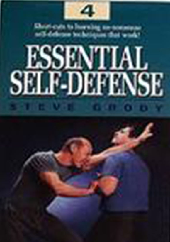 Essential Street Self-Defense #4 DVD Steve Grody jeet kune do kung fu MMA